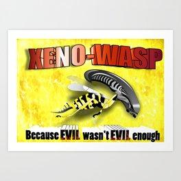 Xeno-Wasp Art Print