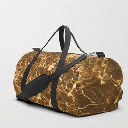 Gold Glitter 2484 Duffle Bag