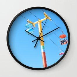 SANTA CRUZ VIEWS - THE BOARDWALK  Wall Clock