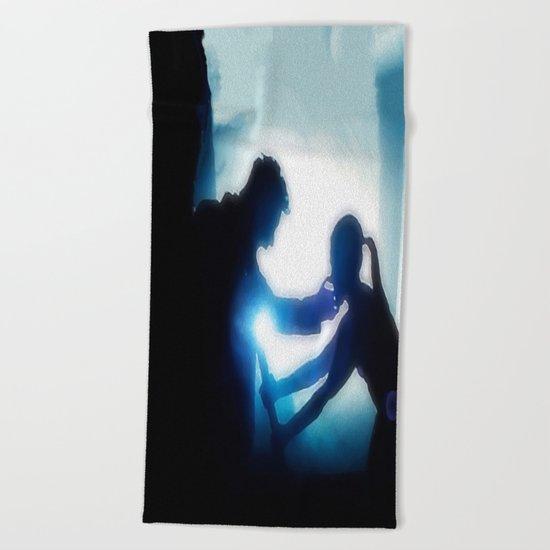 The Broken One (Burying The Hatchet) Beach Towel