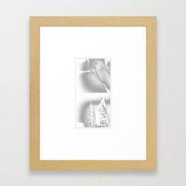 sore Framed Art Print