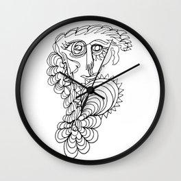 wind & waves Wall Clock