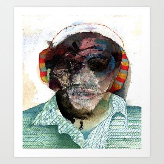 Small Self Portrait Art Print