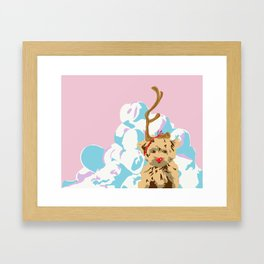 Merry Grinchmas Framed Art Print