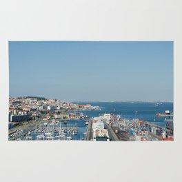 Port of Lisbon, Portugal Rug