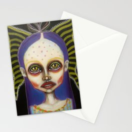 toxic butterfly Stationery Cards