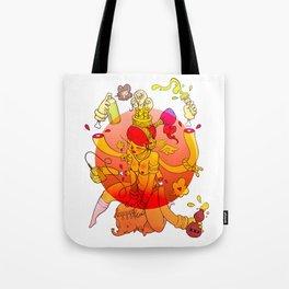 Naga Boo Tote Bag