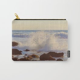 Crashing Shore Carry-All Pouch