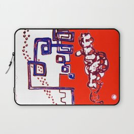 Progressive Triplet                 by   Kay Lipton Laptop Sleeve