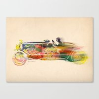 car Canvas Prints featuring car  by mark ashkenazi