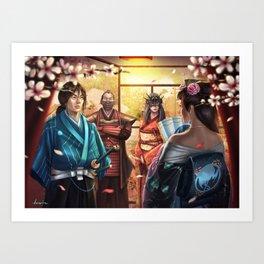 A New Alliance Art Print