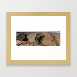 The Goosnecks - A Meander Of The San Juan River Framed Art Print