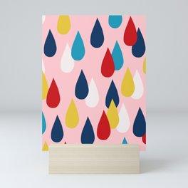 Happy Rain Mini Art Print