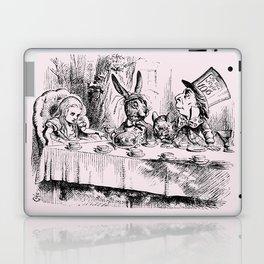 Blush pink - mad hatter's tea party Laptop & iPad Skin