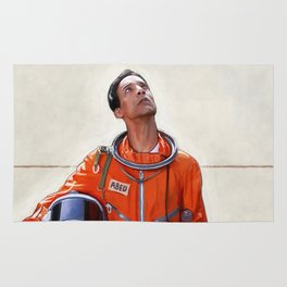 Abed The Astronaut - Six Seasons And A Movie - Community Rug