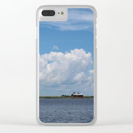 Houseboat - Apalachicola, Florida Clear iPhone Case
