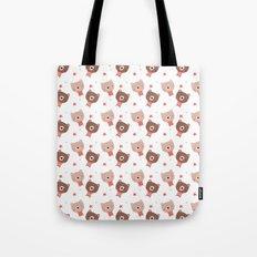 Christmas cute bears Tote Bag