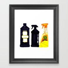 Spray n' Wash Framed Art Print