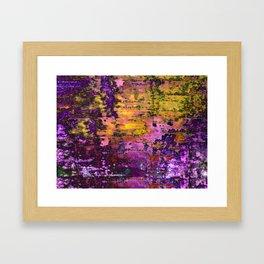 Purpling Framed Art Print
