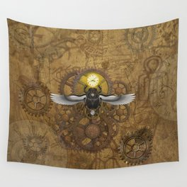 Egyptian Steampunk Wall Tapestry