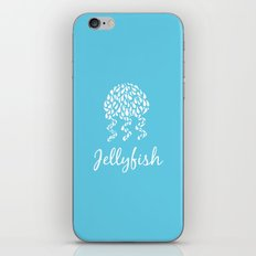 Jellyfish Blue iPhone & iPod Skin