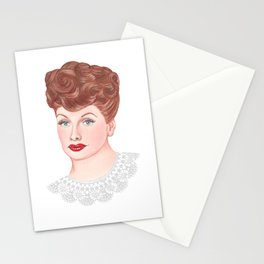 Lucille Ball Lace Stationery Cards