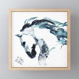 Horse (New Storm) Framed Mini Art Print