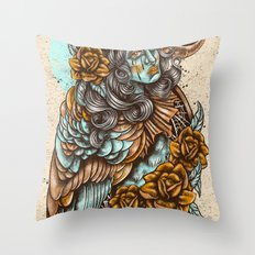Harpie Throw Pillow