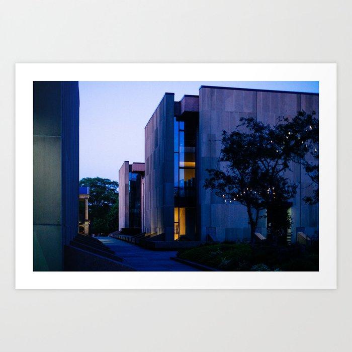 Confederation Centre of the Arts at Dusk Art Print