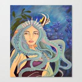 Down Below the Ocean Canvas Print
