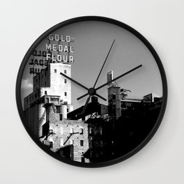 Gold Medal Flour, Minneapolis Wall Clock