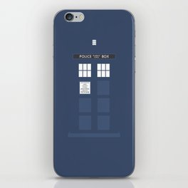 Tardis ( Doctor Who ) iPhone Skin