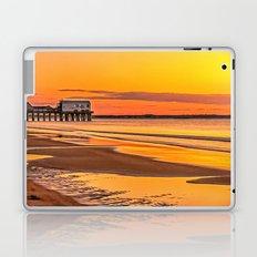 Pier at Sunrise Laptop & iPad Skin