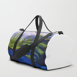 Point Success, Mount Rainier, Seahawks, Seattle, Northwest, NFL, 12thman Duffle Bag