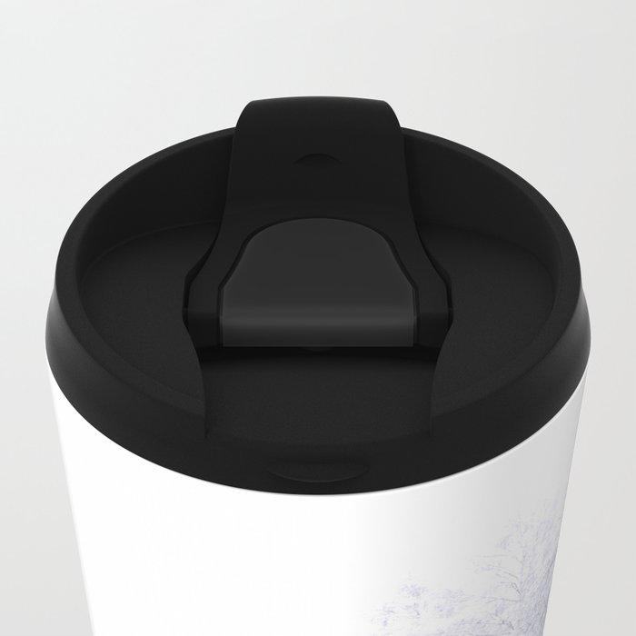 White Forest Metal Travel Mug