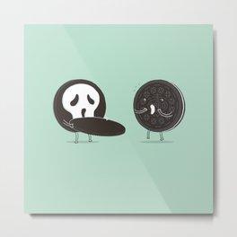 Cookies and Scream Metal Print