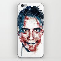 obama iPhone & iPod Skins featuring Obama by I AM DIMITRI