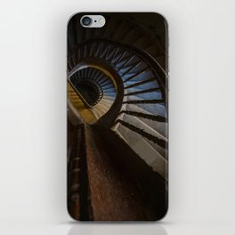 Abandoned Wooden Staircase iPhone Skin