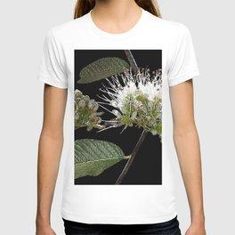 White Floral Watercolor T-shirt