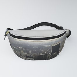 Grey Clouds over Central Park, NYC Fanny Pack