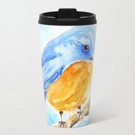 The Chubby Bluebird Travel Mug