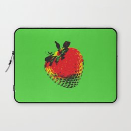 Strawberry Green - Posterized Laptop Sleeve