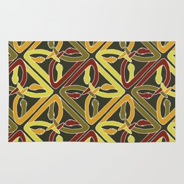 earth protractor snakes Rug