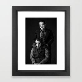 The Jokers Framed Art Print