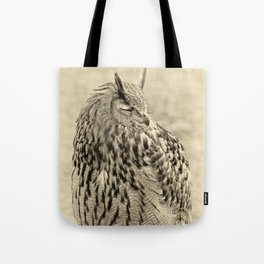 eagle owl Tote Bag