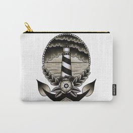 Traditional Lighthouse Carry-All Pouch
