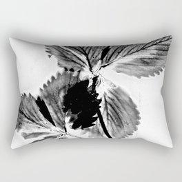 Strawberry Leaves Rectangular Pillow