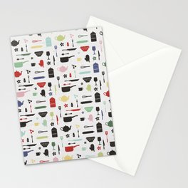 Retro Kitchen Stationery Cards