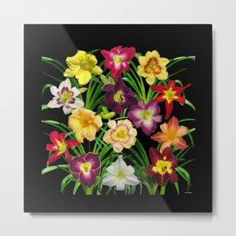 Display of daylilies I Metal Print