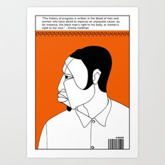 1001 Black Men--#44 Art Print